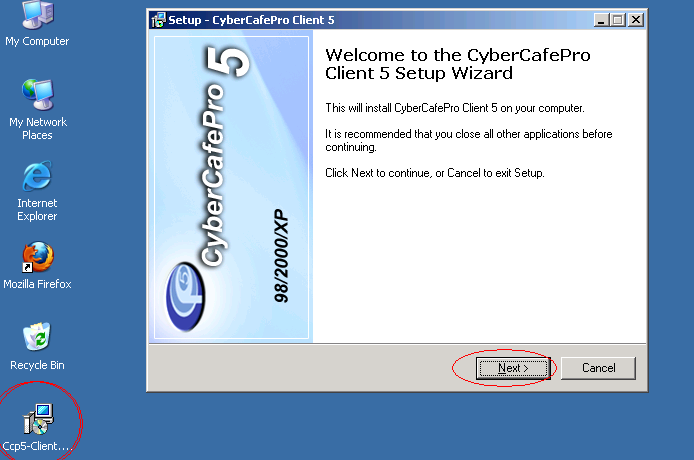 ccp5 server