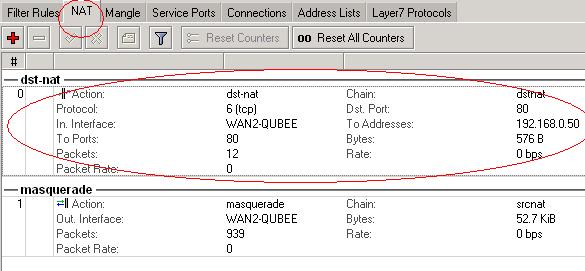 Mikrotik / Linux Port Forwarding to Local Server on LAN