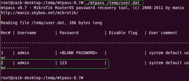 Howto Recover Mikrotik ADMIN account Forgotten Password