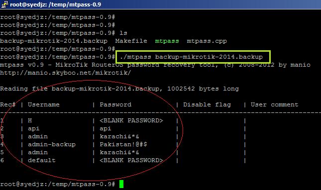 Howto Recover Mikrotik ADMIN account Forgotten Password (2/6)