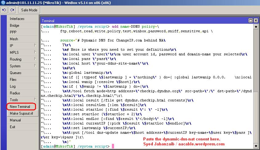 Access Mikrotik Remotely via DynamicDNS ~ Learn It
