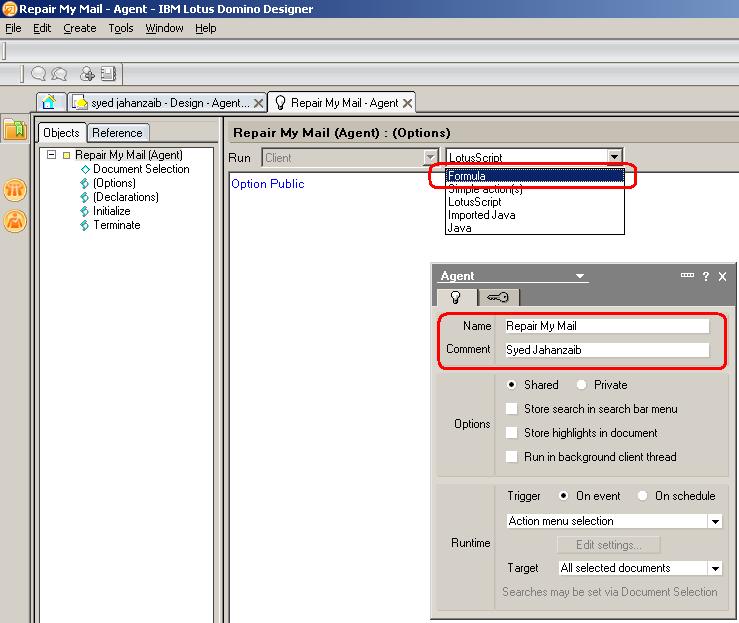 Domino Web Access An Error Occured Syed Jahanzaib