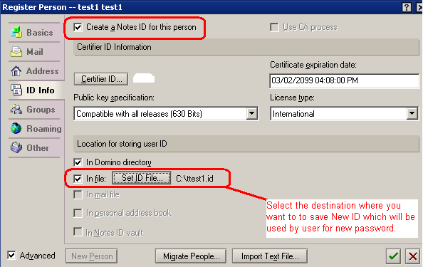 Ibm Lotus Notes Howto Change Recover Id Password Syed