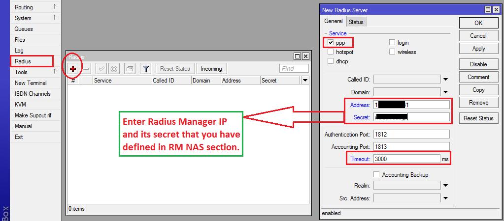 Radius Server Mikrotik - fivestarload's blog