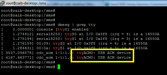 1- detect modem