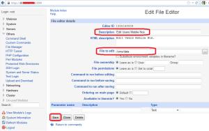 6- Create File Editor
