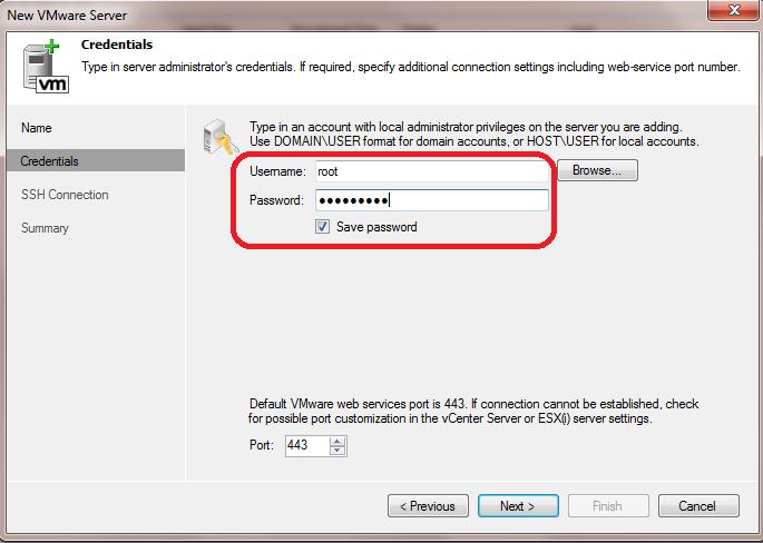 veeam-user-passsword
