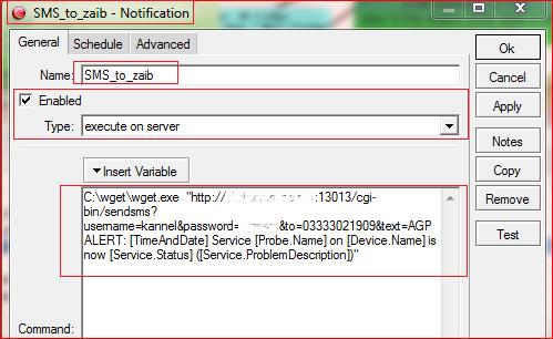 Mikrotik DUDE SMS Notification ! | Syed Jahanzaib Personal