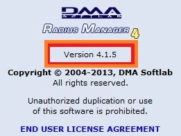 Radius Manager 4.1 Patch5 Deployment (1/2)