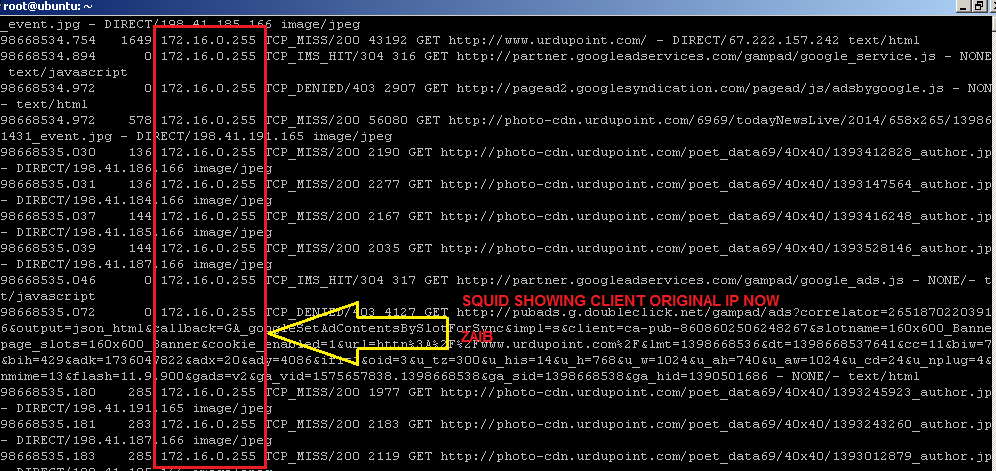 Howto connect Squid Proxy with Mikrotik with Single Interface (5/5)