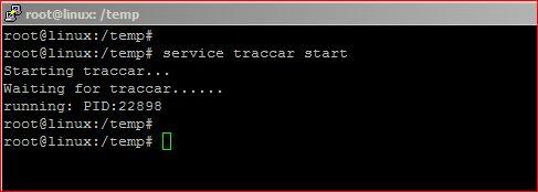 traccar server status
