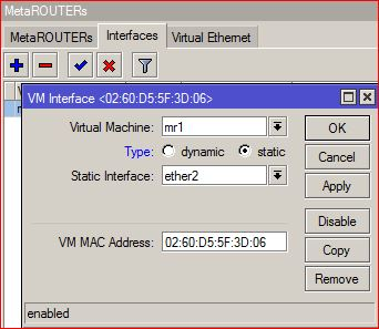 how to allow a virtual machine access to the internet