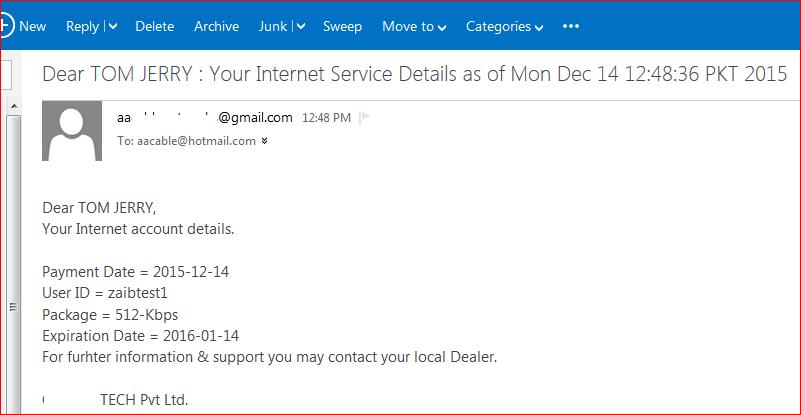 1- renewal email