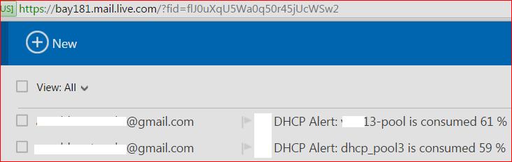 2- dhcp alert amil sub