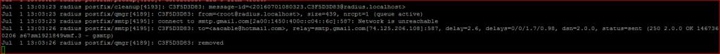 psotfix log
