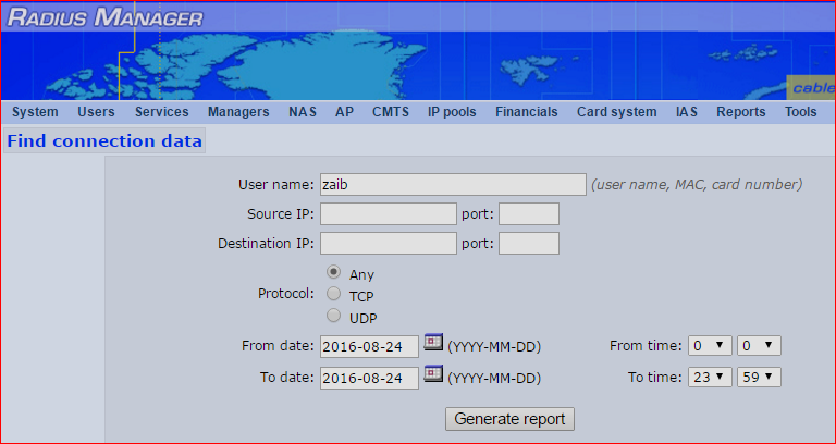 Radius Manager Connection Tracking System for Mikrotik | Syed