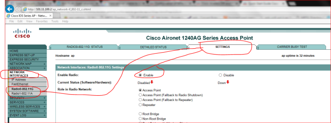 cisco-aironet-howto-enable-radio