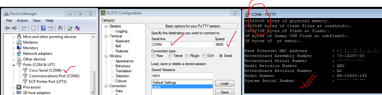 3850 putty setting