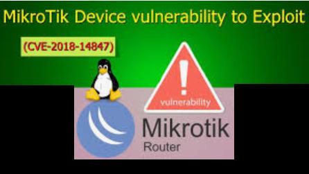 Exploiting Mikrotik for Good ? | Syed Jahanzaib Personal